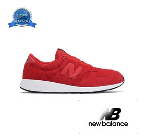 new balance hombre rojas