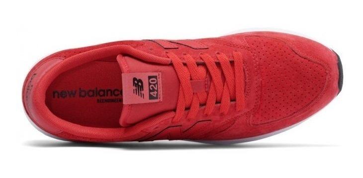 zapatillas hombre rojas new balance