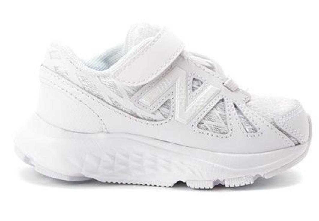 a46fe0d17e3 Zapatillas New Balance Niños Escolares Blancas -   1.330