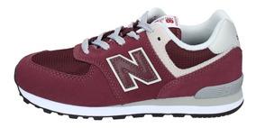 Zapatillas New Balance Niños Gs Urbana Gc574gb Burdeo 2953