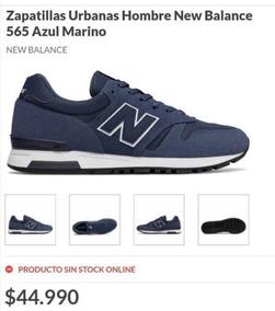 new balance 565 azul