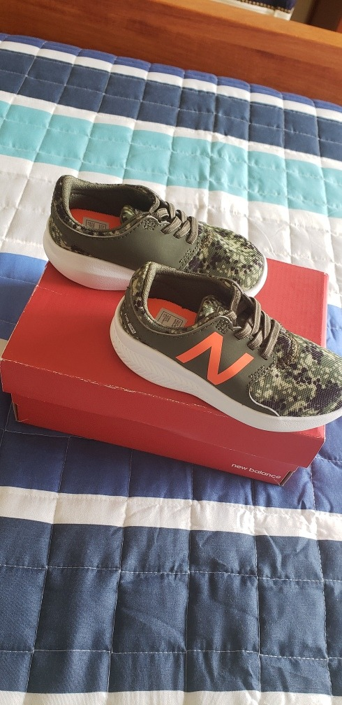 Zapatillas New Balance Originales Para Niños!nuevas,sin Uso!