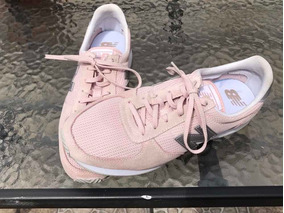 Zapatillas New Balance Pink White Mujer