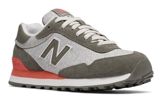 new balance grises y coral