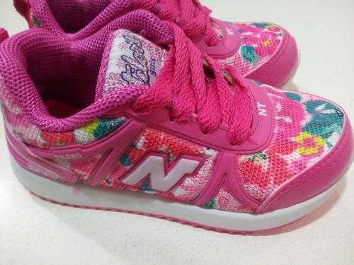 zapatillas new tilers oferta nena niño 22/33 colores varios