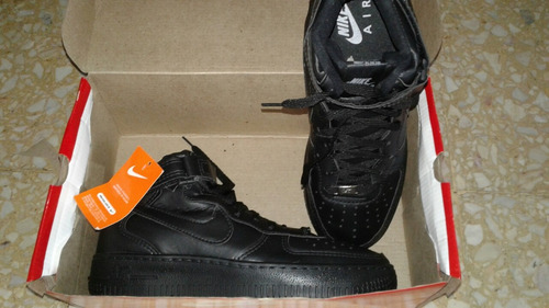 zapatillas nike 1 hight air force bota con caja y etiqueta