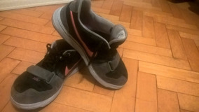 Nike Negras Nobuck Con Pipa Gris Zapatillas en Mercado