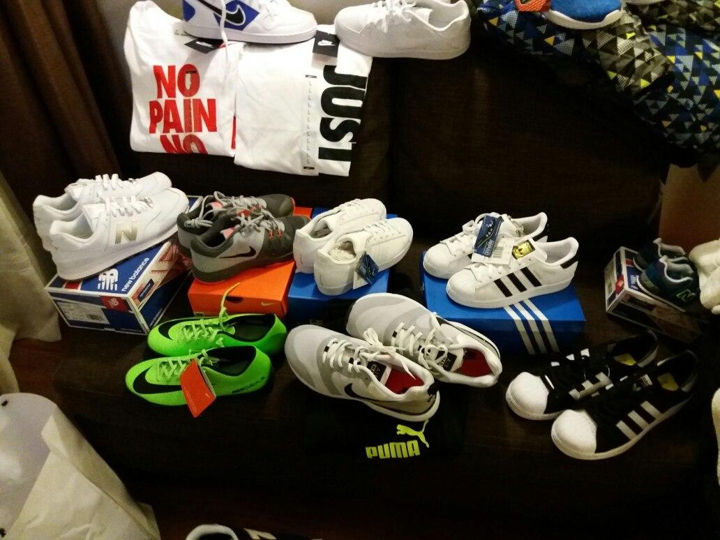 Zapatillas Nike adidas New Balance