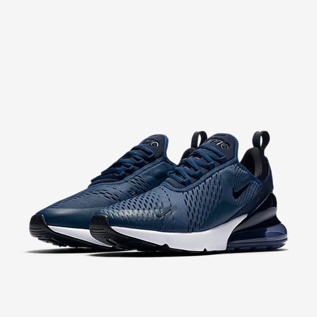 063b125129 Zapatillas Nike Air 270 Azul Midnight Navy Original 2018 - S/ 399,90 en Mercado  Libre