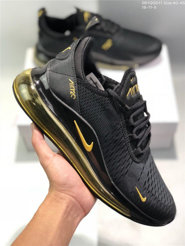 Zapatillas Nike Air 720 Black And Gold 40 46 S 370 00