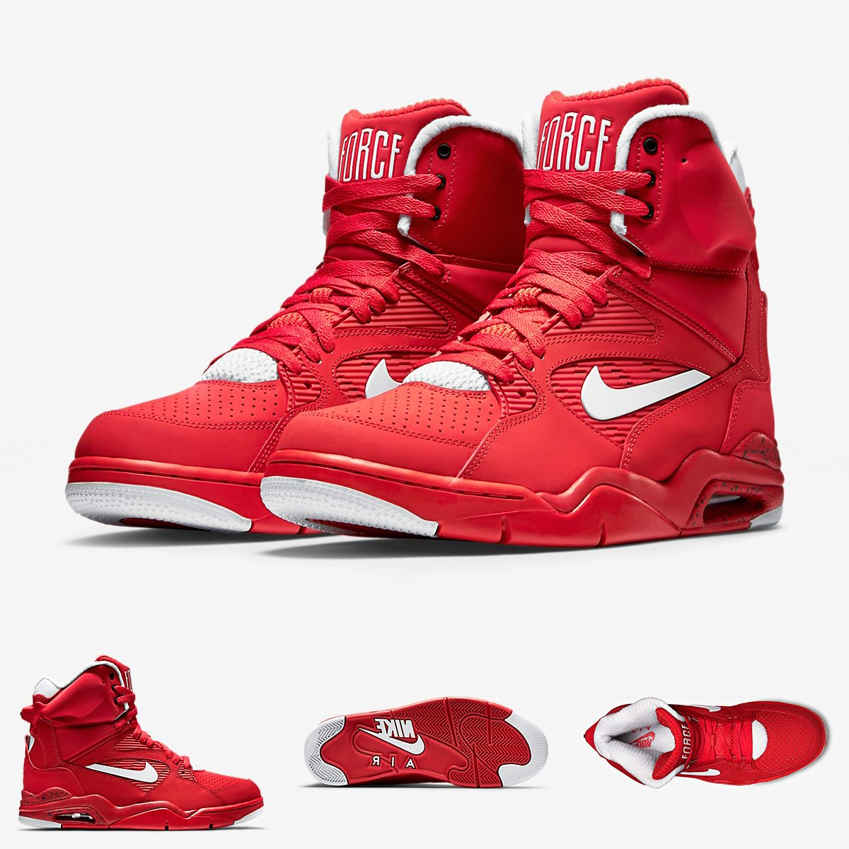 brand new df6cf b202e zapatillas nike air command force  pump rojo 2015. Cargando zoom.