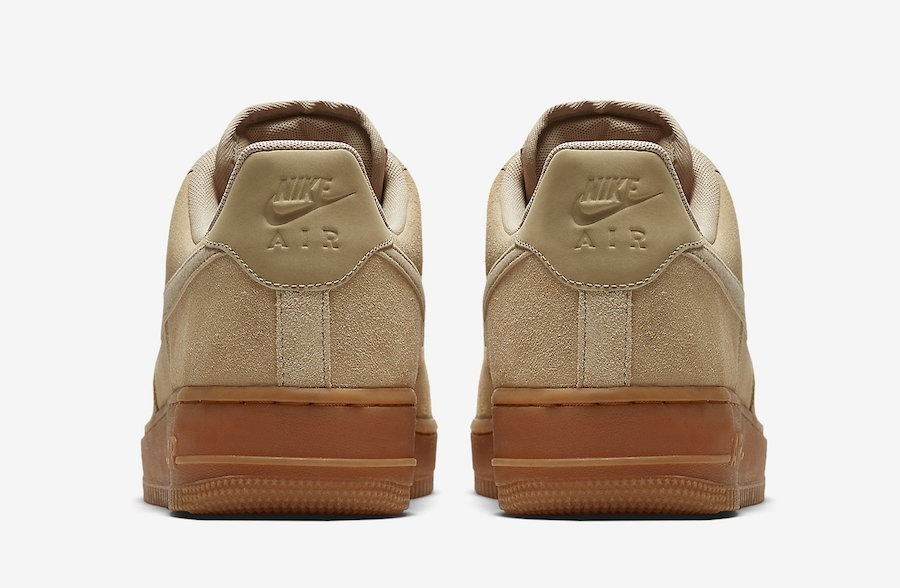 Zapatillas Nike Air Force 1 '07 Lv8 Suede Beige 2017