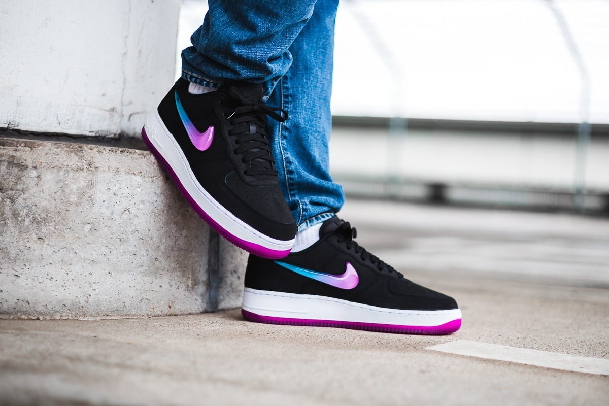Zapatillas Nike Air Force 1 07 Prm 2 Black Active Hombre