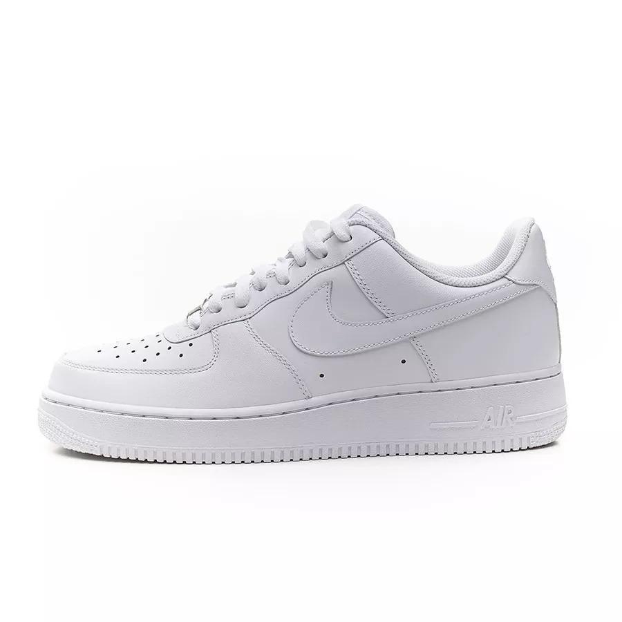 size 40 6d39f f20be zapatillas nike air force 1 af1 blancas originales de hombre. Cargando zoom.