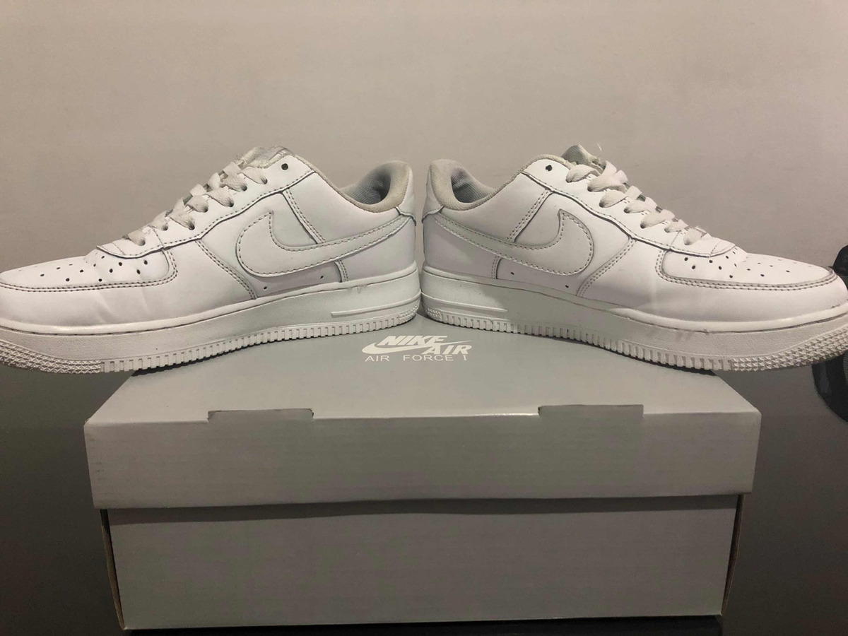 Zapatillas Nike Air Force 1 Blancas $ 2.700,00