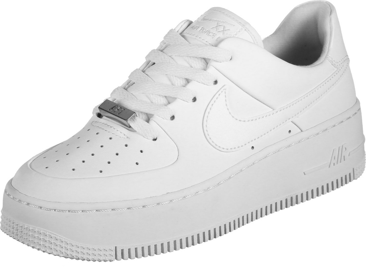 Zapatillas Nike Air Force 1 Blancas Negras Mujer Hombre