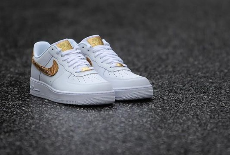 1 Cr7 Nike Patchwork Golden Air Force Zapatillas rQCodxBWe