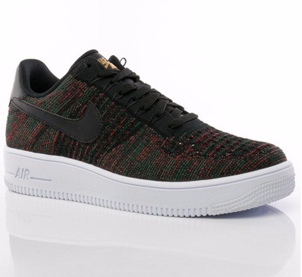 nike air force 1 flyknit low hombre