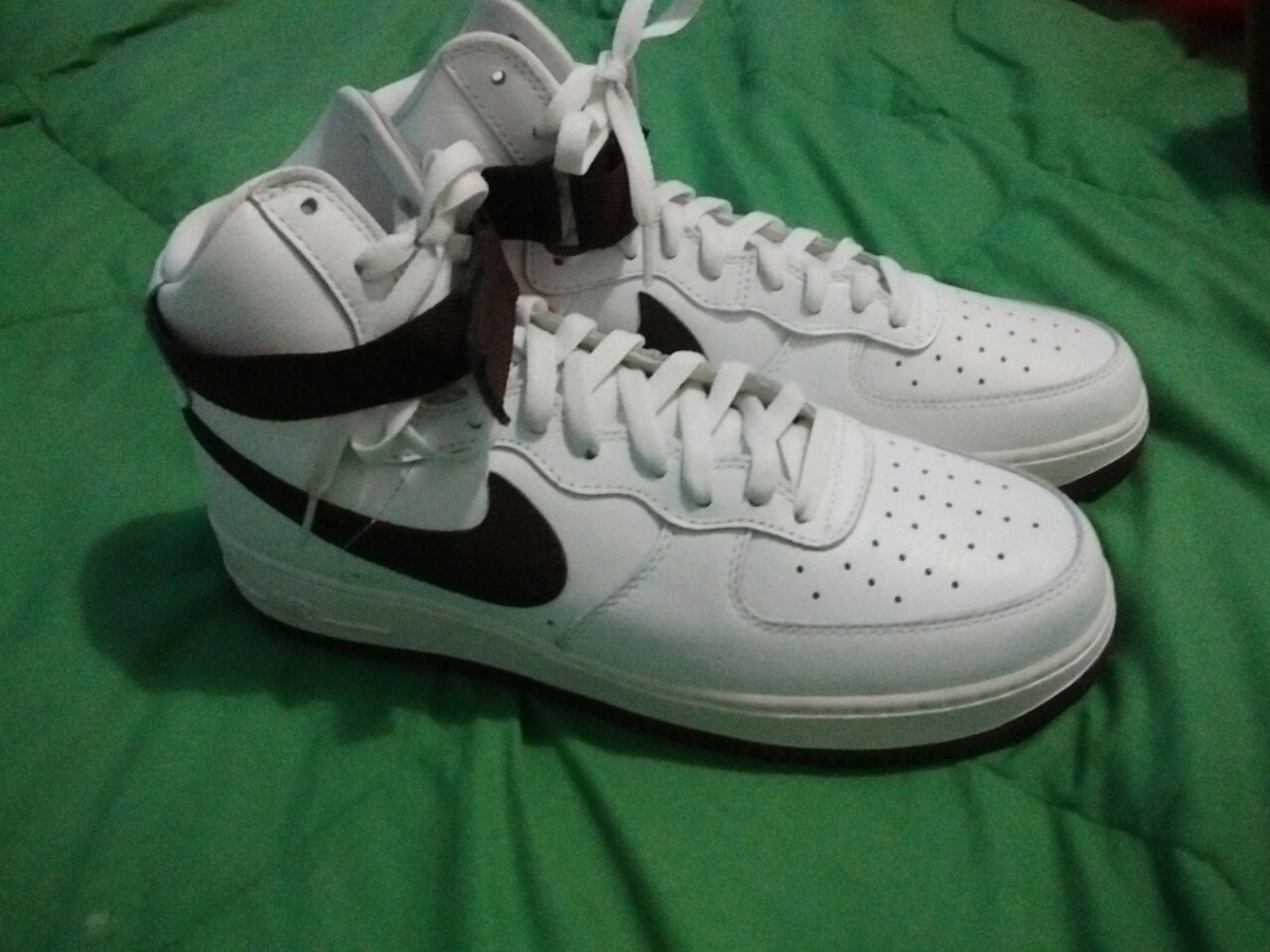 Nike Air Force 1 Zapatillas blancas y azules High Retro Qs