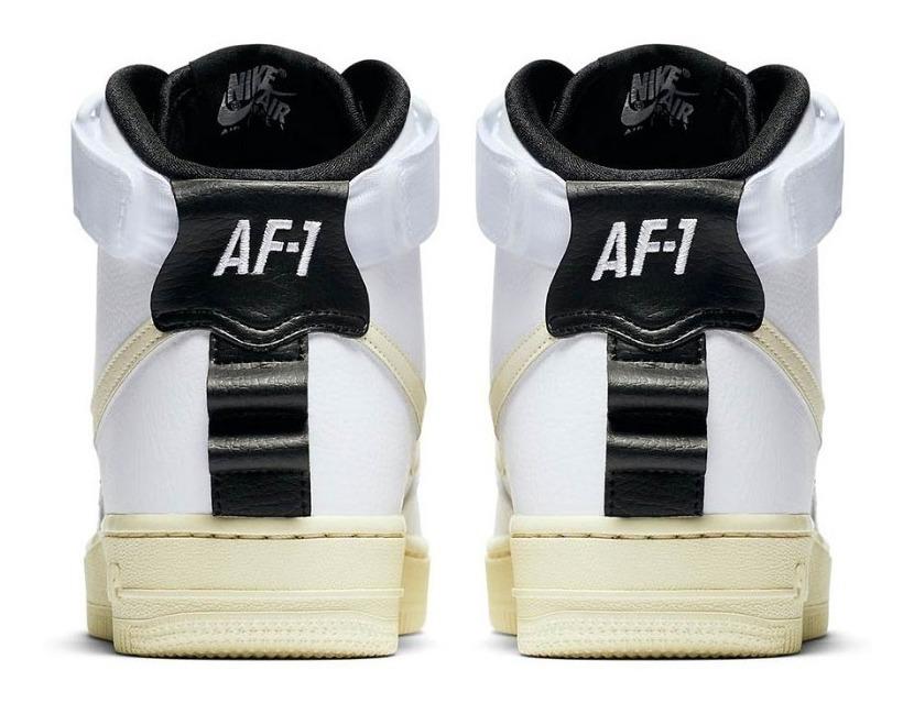 Zapatillas Nike Air Force 1 Hi Ut Whitecream Mujer