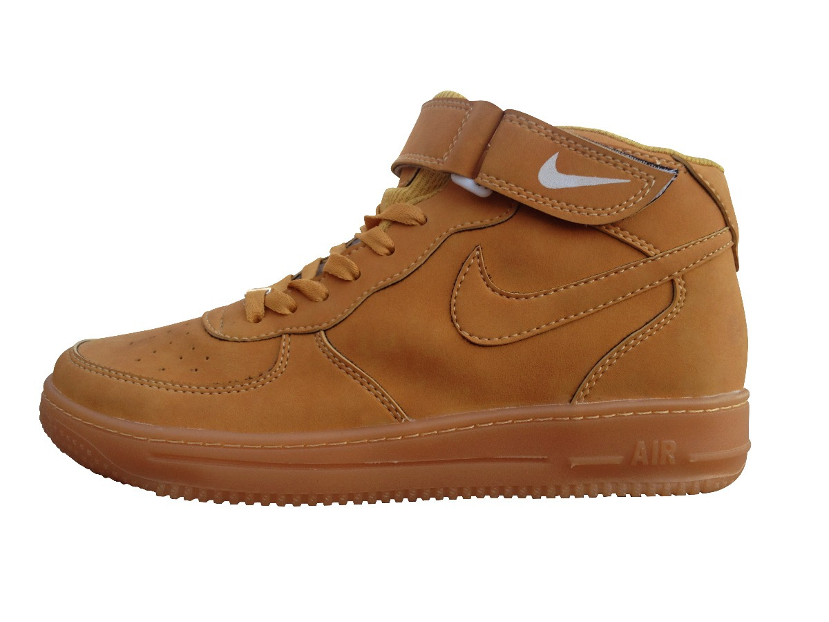 reputable site de20a 3b1cf zapatillas nike botitas marrones