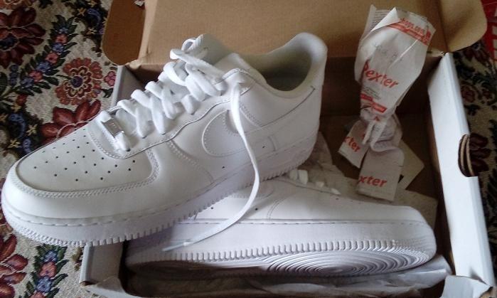 bcf84c25f185e Zapatillas Nike Air Force 1 Low Blancas Nuevas Originales -   3.500 ...