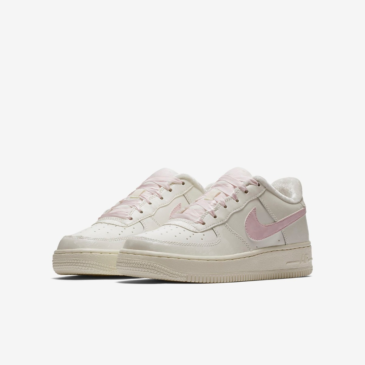 quality design d358d fd086 ... cheap zapatillas nike air force 1 low crema rosado rosa mujer 2018. cargando  zoom.