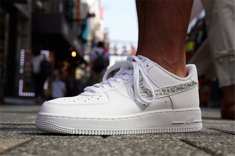 premium selection b038e 4ab84 Zapatillas Nike Air Force 1 Low Just Do It Pack White - S/ 370,00 en ...
