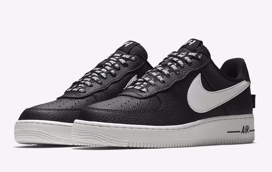 air force 1 blanco con negro