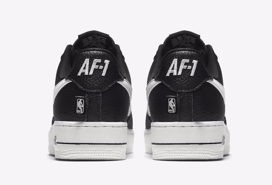 Zapatillas Nike Air Force 1 Low Nba Negro Blanco Nuevo 2017