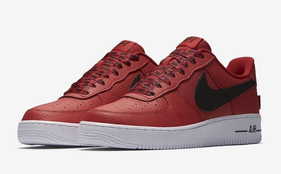 58bb860249 zapatillas nike air force 1 low nba rojo    original 2018. Cargando zoom.