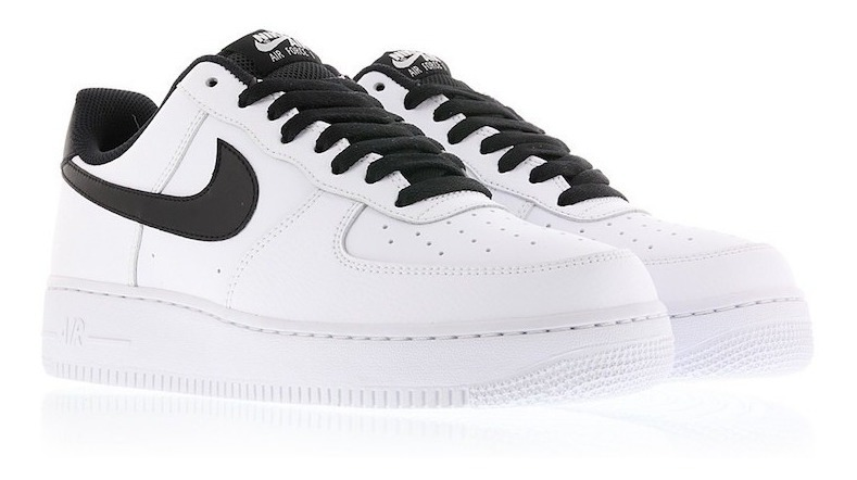 Zapatillas Nike Air Force 1 Low Negro Blanco Nuevo 2018