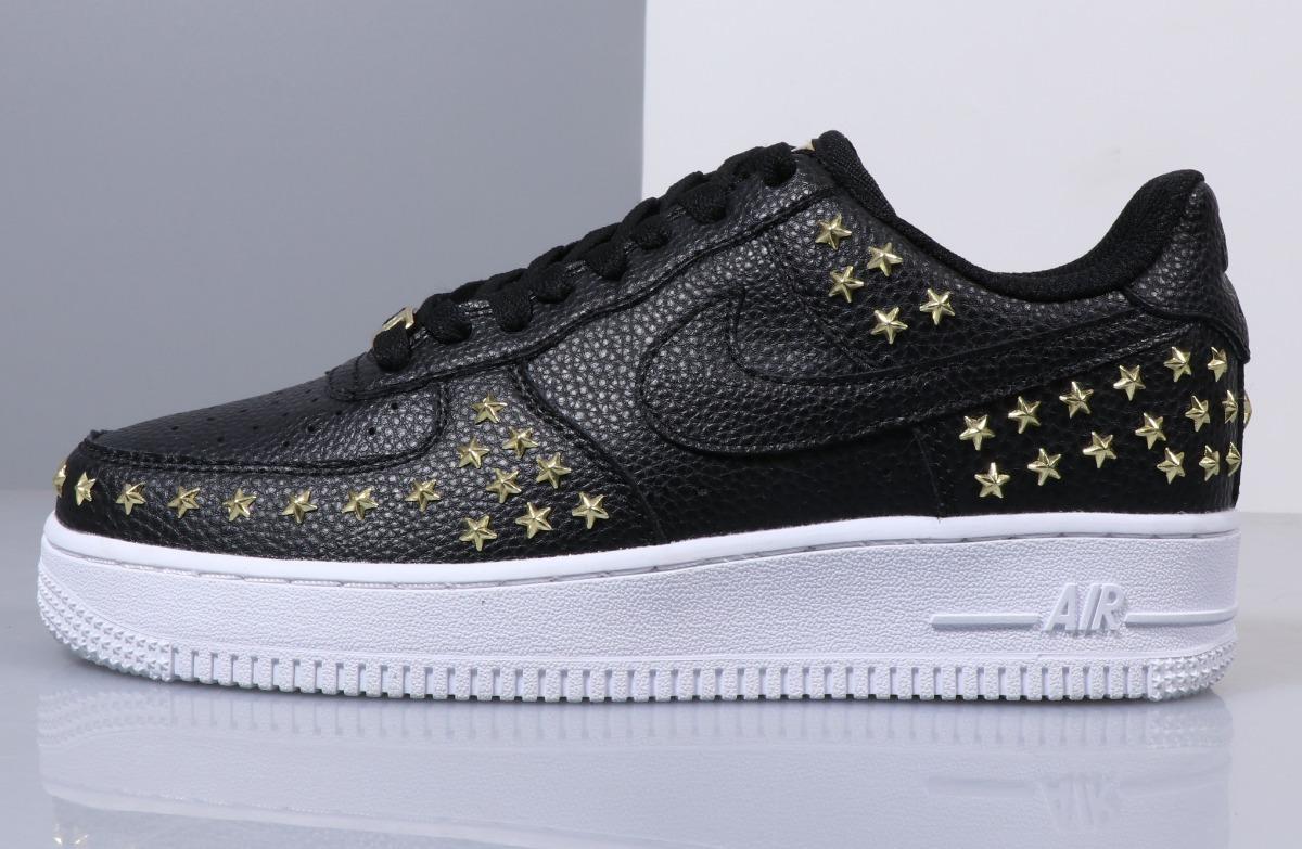 newest 0bf0c 2de1f Zapatillas Nike Air Force 1 Low Negro Con Estrellas T: 36-45 - S/ 380,00