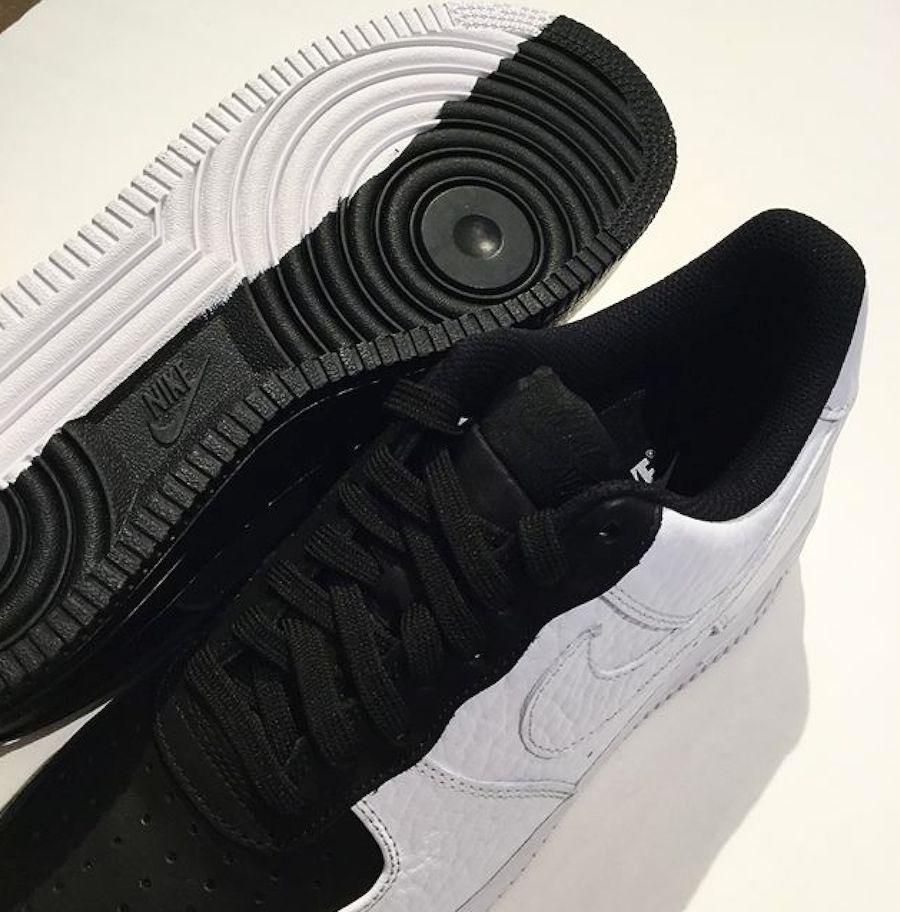 cheap for discount 01043 3336b zapatillas nike air force 1 low split negro blanco 2018. Cargando zoom.