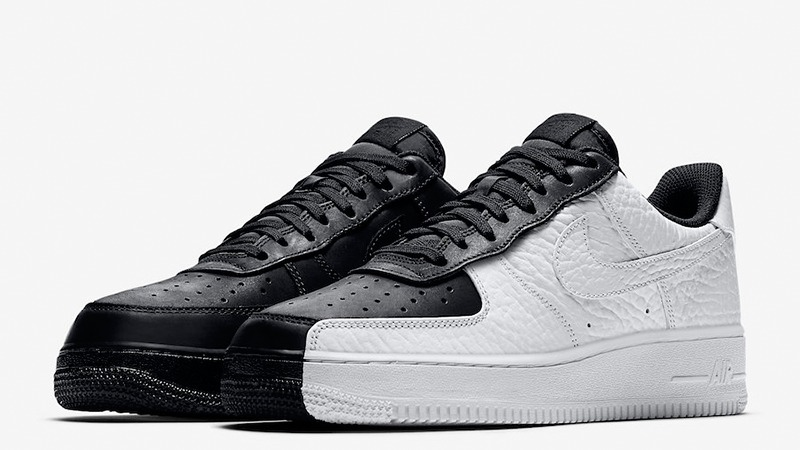 authentic nike air force 1 negro and blanco low 3acac 60685