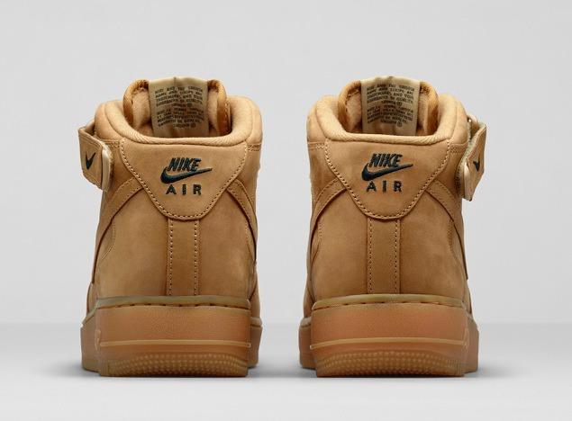 Zapatillas Nike Air Force 1 Mid '07 Prm Qs Flax Pack Crema