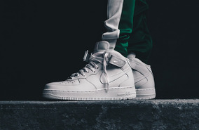 Force 1 Air Zapatillas Nike White Midbotitas07 Triple ZOkXTPiwu