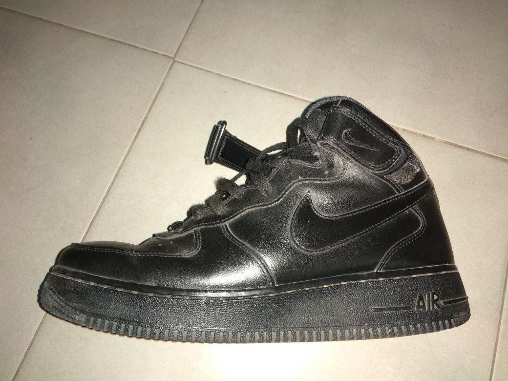 separation shoes 4d364 a0e10 zapatillas nike air force 1 negras botita. Cargando zoom.