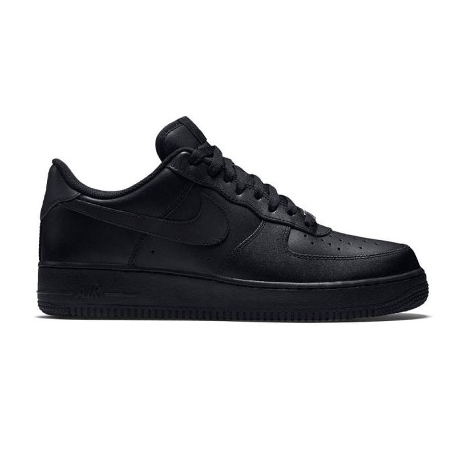 best service 94afd ae161 ... spain zapatillas nike air force 1 one hombre mujer negro. cargando  zoom. 763a6 ccb97