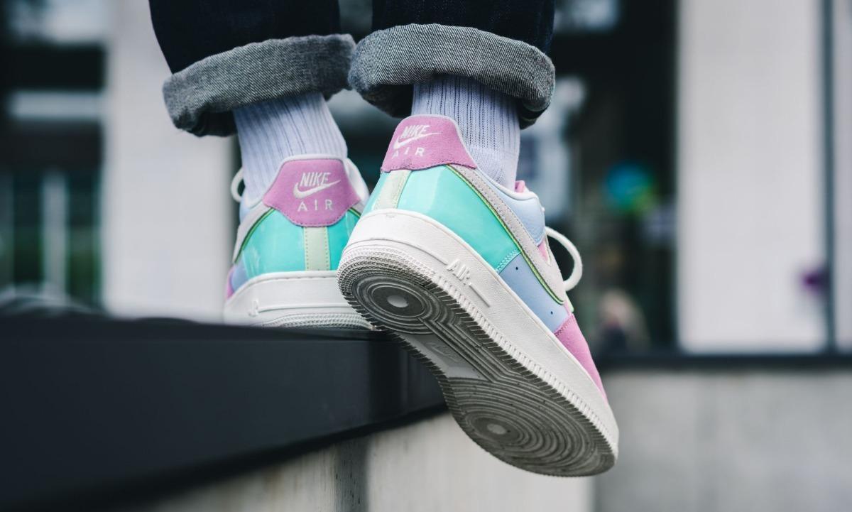 Zapatillas Nike Air Force 1 Qs Easter Rosado Nuevo 2018