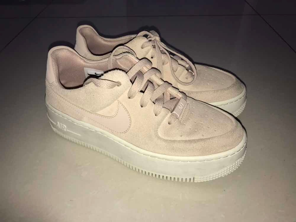 first rate bc700 14d1d Zapatillas Nike Air Force 1 Sage Low Particle Beige - S/ 310,00