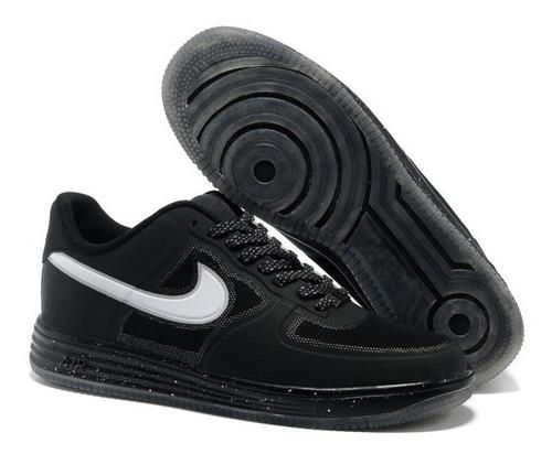 zapatillas nike air force 1 talla 10.5 us modelo exclusivo