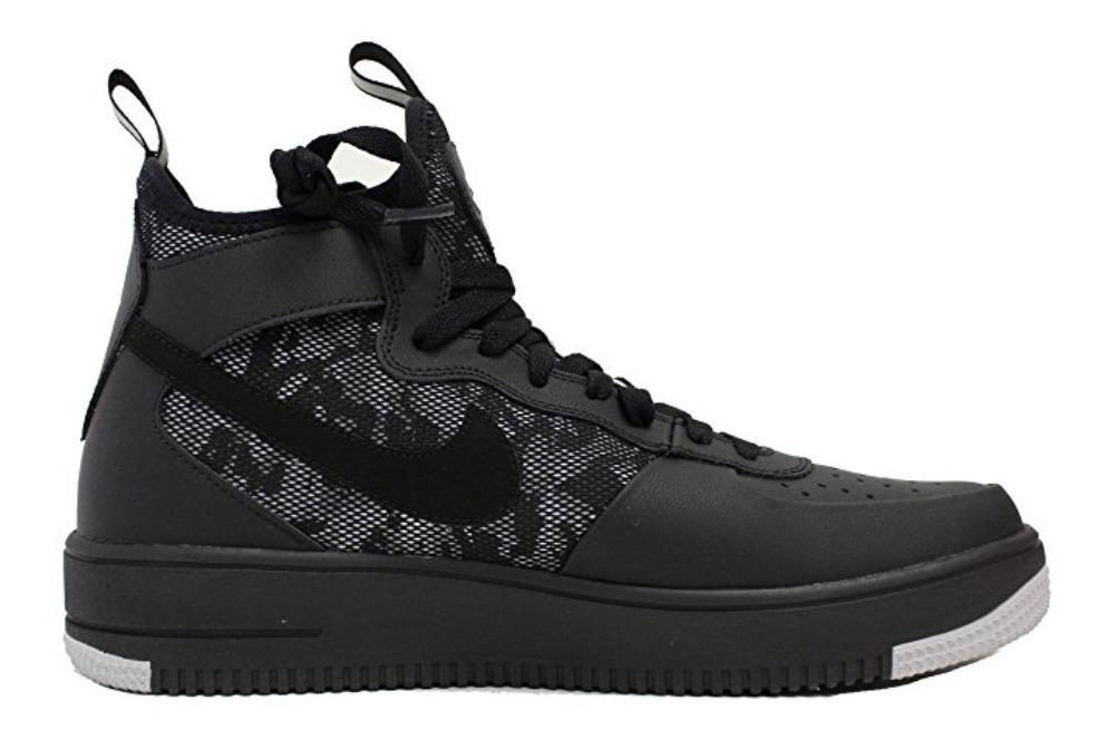 zapatillas nike air force hombre negras