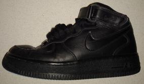 Zapatillas Nike Air Force Af1. Botitas Cuero. Niño 5.5 Us.
