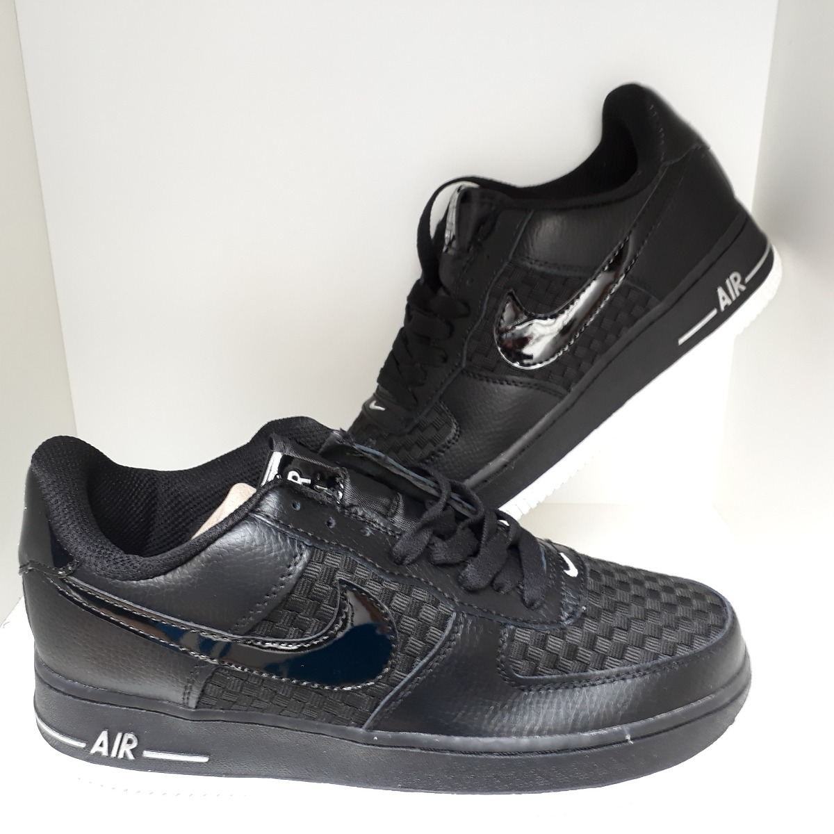 online store cbcdc 144f2 zapatillas nike air force hombre negras! Cargando zoom.