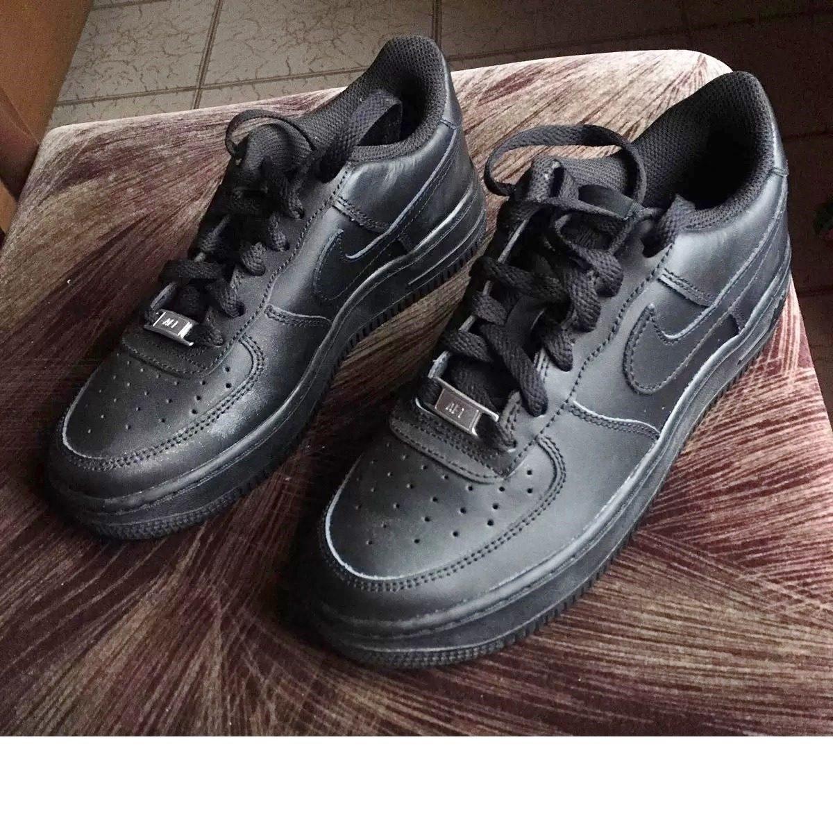 official photos 3fd14 ca293 Zapatillas Nike Air Force Low 1 - Niños - Negras - 23,5cm -