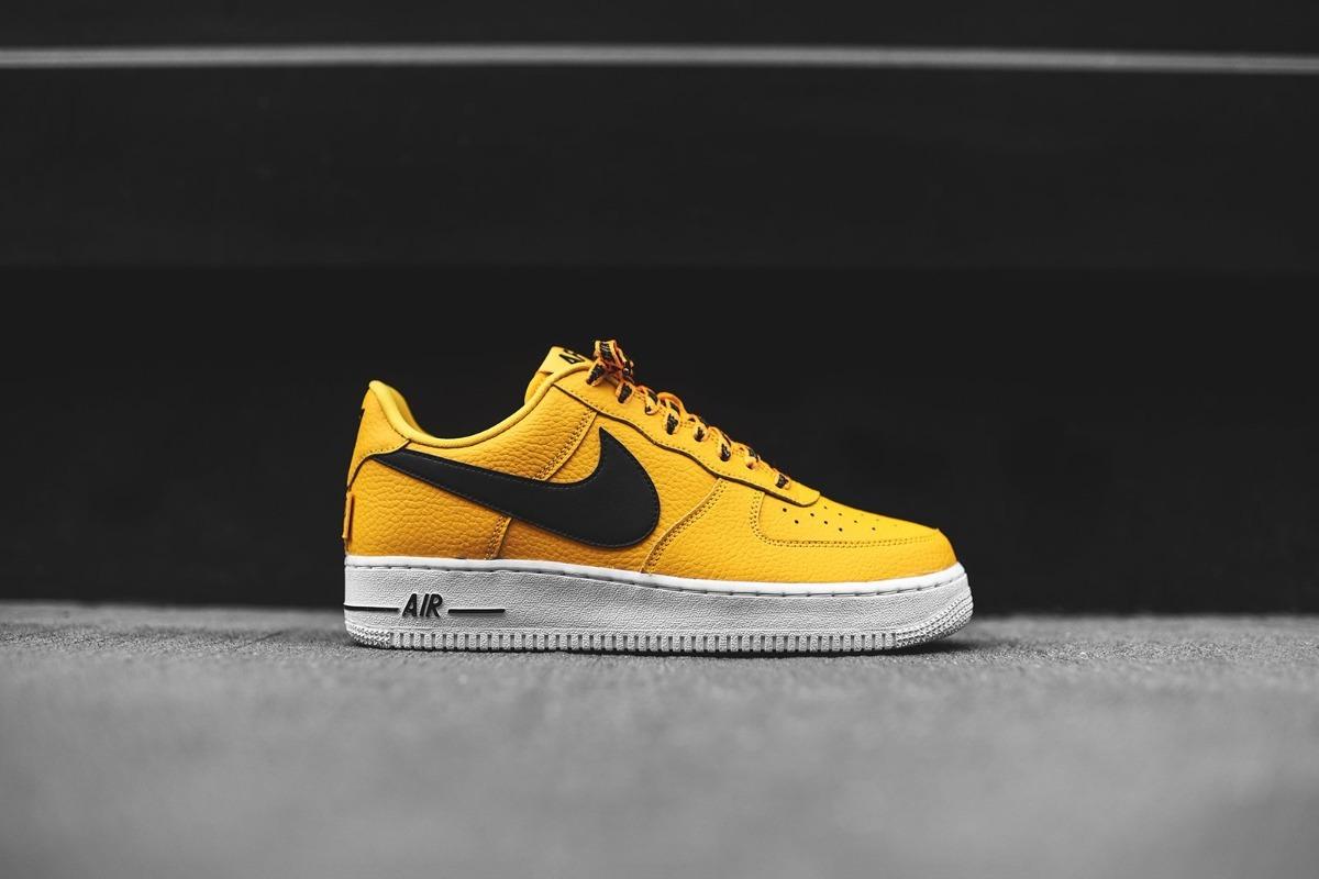 Nba Zapatillas 2018 Air Force Nike Yellow j5A4RL