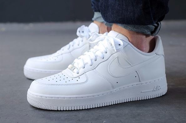 Zapatillas Nike Air Force One ´07 Originales - $ 3.499,99 en Mercado ...