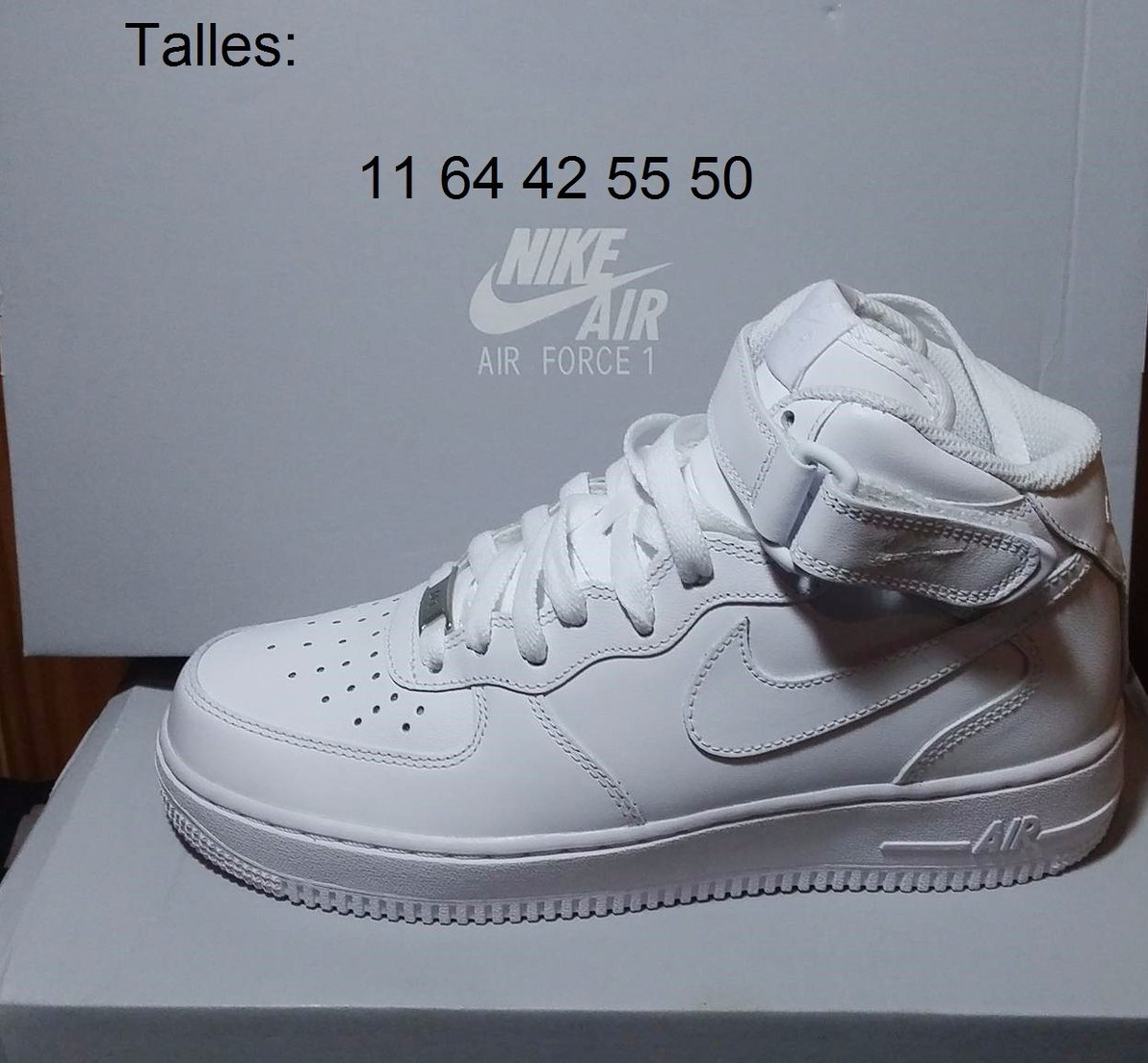 best service 79e30 8a468 nike air force one zapatillas