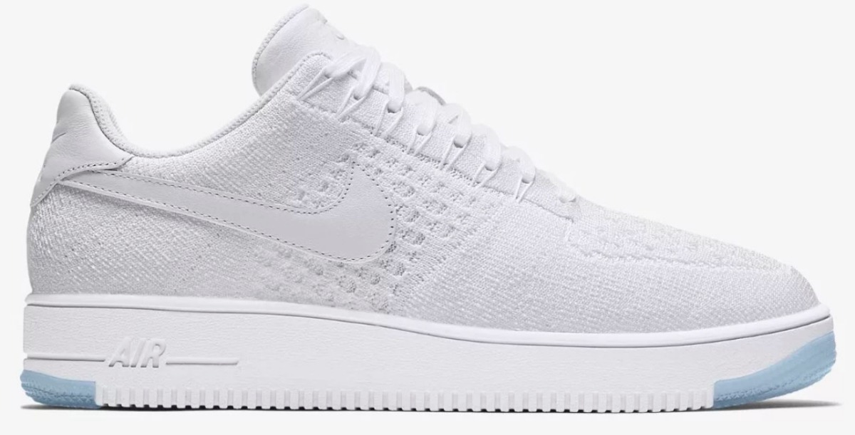 Zapatillas Nike Air Force Tela Blancas